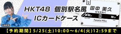 HKT48 個別駅名風ICカードケース
